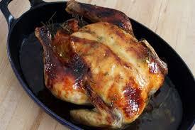 roasted whole chicken roasted whole chicken with maple rosemary glaze recipe