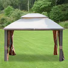 Discount Gazebos by Garden Winds Replacement Canopy For Gazebos Sold At Walmart Or