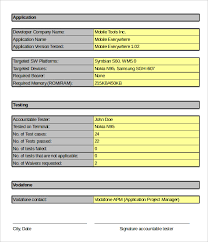 Testing Template Excel Test Template 25 Free Word Excel Pdf Documents