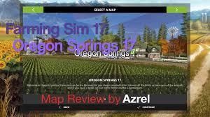 map of oregon springs farming simulator 17 oregon springs 17 map walkthrough