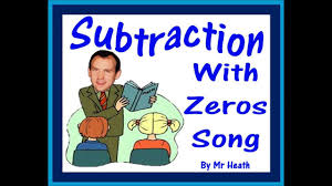 subtracting with zeros song youtube