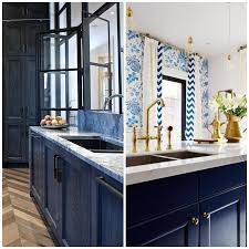 kitchen sink cabinet parts 4 ways to use navy blue in your kitchen big chill