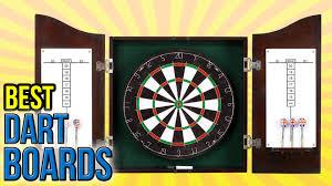 best dart board cabinet 6 best dart boards 2016 youtube