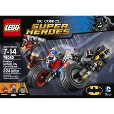 batman car lego lego super heroes batman gotham city cycle chase 76053 walmart com