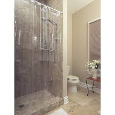 Shower Curtain Clear Berrnour Home Venice Collection Heavy Duty Clear Shower Curtain