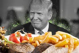 cuisine chagne donald s bad taste in food could change white house cuisine