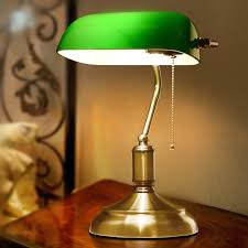 Traditional Bankers Desk Lamp Green Study Table Lamp Best Inspiration For Table Lamp