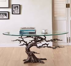 tree root coffee table home table decoration