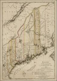 Maine Maps Undoubtedly One Of The Finest Early Maps Of Maine