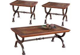 Coffee Table Rooms To Go Rustic Living Room Tables Shop Rustic Table Set Styles