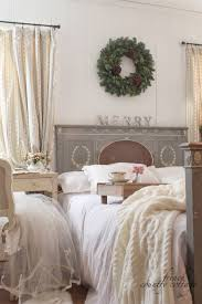A Little Bit Merry Cottage Bedroom Christmas Details French