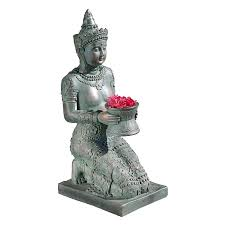 shop design toscano thai princess 29 in garden statue at lowes