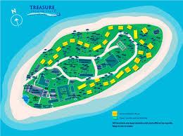 Map Of Fiji Treasure Island Fiji Map Treasure Island Resort Fiji