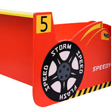 costway new kids race car bed toddler bed boys child furniture costway new kids race car bed toddler bed boys child furniture bedroom red wooden walmart com