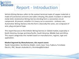 global vehicle wiring harness market by manufacturers countries typ u2026