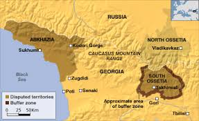 south ossetia map behold the new south ossetia
