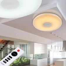 deckenlampe mit fernbedienung deckenleuchten mit fernbedienung dimmbar mit rbg farbwechsel