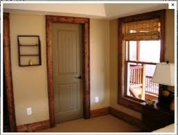 Colored Interior Doors Painted Interior Doors With Stained Trim