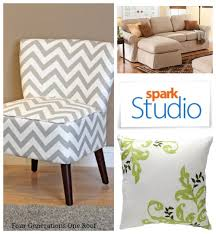 Accent Chair Slipcover Lets Go Shopping With Spark Studio Four Generations One Roof