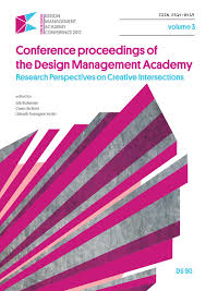 conference proceedings of the design management academy volume 3