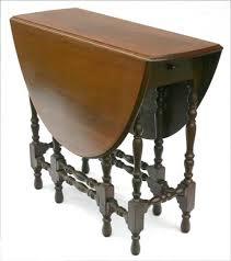 antique drop leaf gate leg table vintage barley twist drop leaf table base painted in annie sloan s