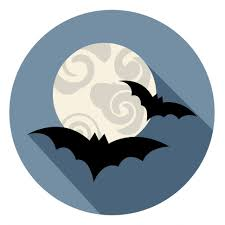 free stock photo of halloween bats icon means spooky horror symbol