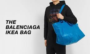 Does Ikea Have Sales What Does The Fashion Industry Think About Balenciaga U0027s Ikea Bag