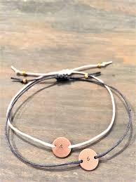 Gold Personalized Bracelets Rose Gold Initial Bracelet Personalized Rose Gold Bracelet