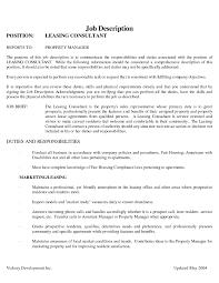 Resume With Community Service Classy Sample Leasing Consultant Resume With Additional The Most