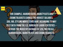 hair stylist salary 2015 how much do hair stylists make at high end salons youtube