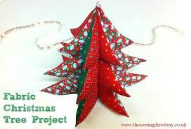 fabric tree decoration