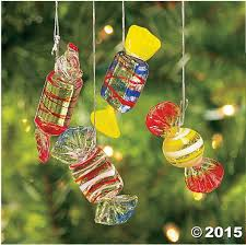 amazon com 12 glass hard candy holiday christmas ornaments