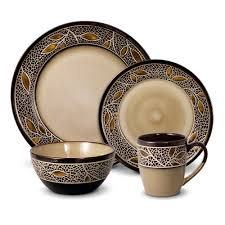 home accessories handmade stoneware dinnerware sets in copper for