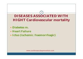 cardiovascular disease prevention epidemiology cardio healt
