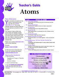 this free lesson plan for kids discover atoms is packed with
