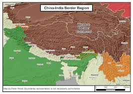 India Regions Map by China And India U0027s Border Infrastructure Race Jamestown