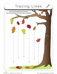 tracing lines preschool worksheets and printables