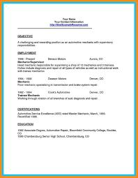 Diesel Technician Resume Sample Resume For Auto Mechanic Pta Resume Examples Printable Gift