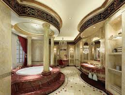 luxury interior design home interior cool luxury bathroom interior design with oval above