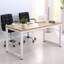 new wood computer desk pc laptop table workstation study home