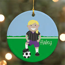 soccer ornaments to personalize personalized soccer ornaments giftsforyounow
