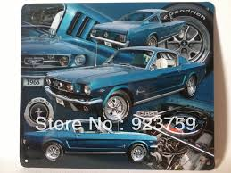 ford mustang metal wall popular tins ford buy cheap tins ford lots from china tins ford