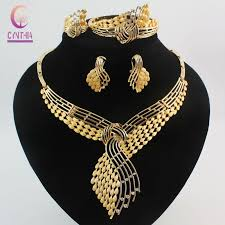 fashion jewelry necklace sets images 2018 fashion african costume jewelry sets 18k gold plated jpg