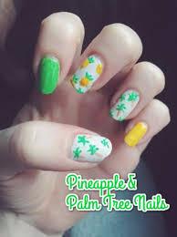 18 tropical nail art tutorials for summer nail design ideaz
