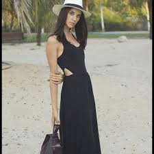 55 Off Zara Dresses U0026 Skirts Zara Black Long Maxi Dress With