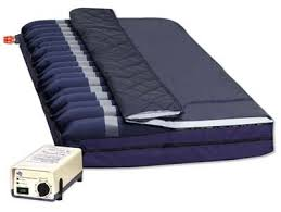alternating pressure mattress overlay with low air loss rapid