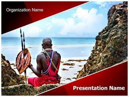 african culture powerpoint template background