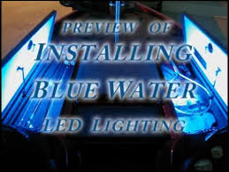 installing led lights on boat installing blue water led lighting how to install led strip lights