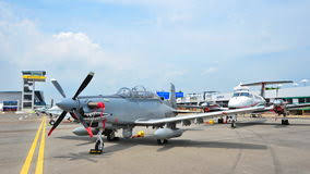 at 6 light attack aircraft beechcraft at 6 texan ii light attack single turboprop plane on