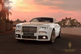 From Lavish To Ludicrous Mansory Graces The Rolls Royce Wraith